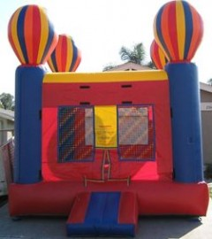 Balloon Adventure Moon Bounce (Red)