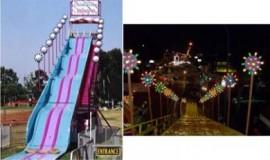 Giant Carnival Slide