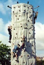 Climbing Wall (24' - 4 Person)