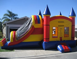 Combo Bounce House with Slide - Santa Barbara