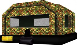 Camouflage Bounce House XL