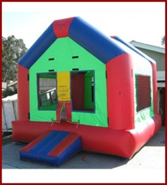 Funhouse Bounce House (Varied Colors)