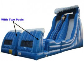 Goliath Inflatable Water Slide