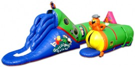 Gorilligans Island Inflatable Toddler Game