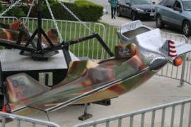 Jet Airplane Swing Carnival Ride