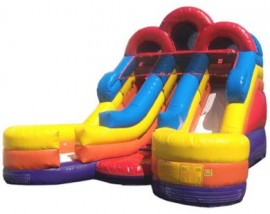 Junior Double Lane Water Slide
