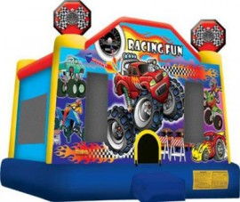 Monster Truck Moonbounce
