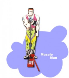 Muscle Man High Striker
