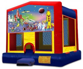 Outer Space Modular Bounce House