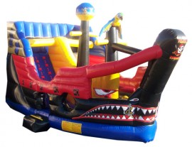 Pirate Ship Slide - Wet / Dry