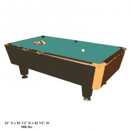 Pool Table / Billiard Table for Rent