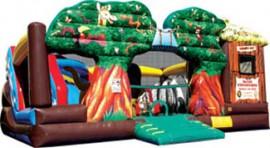 Safari Adventure Obstacle Course