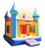 Santa Barbara Castle Bounce House