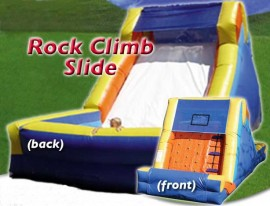 Santa Barbara Rock Climb Slide