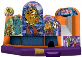 Scooby Doo 5 in 1 Extra Large Inflatable Combo