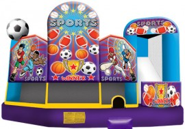 Sports Themed Extra Large 5 in 1 Combo
