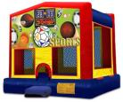 Sports Themed Modular Bounce House