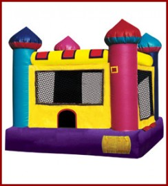Toddler Mini Castle Bounce House