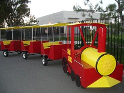 Trackless Train  for Rent (Red)