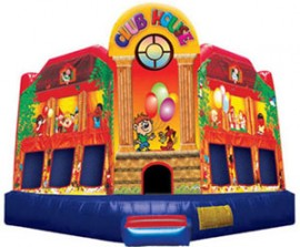 Clubhouse Extra Large Inflatable Bouncer