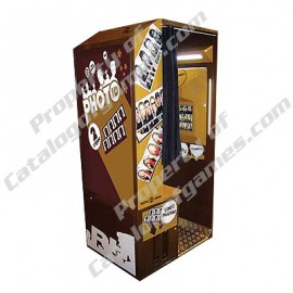 Photo Booth Rental - Brown