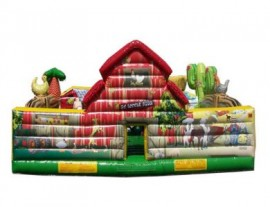 Toddler Farm House Inflatable Game