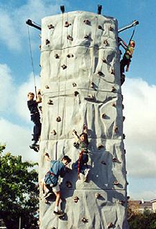 Climbing Wall Portable Rock Wall Powered by CubeCart