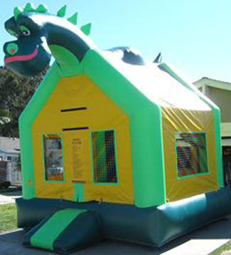 Dinosaur Bounce House Orange County Los Angeles