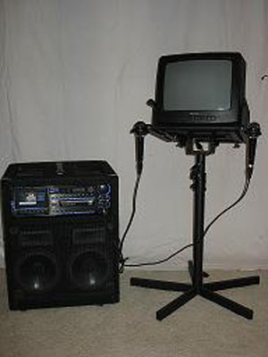 karaoke machine for rent