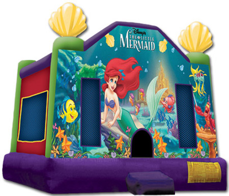Little Mermaid Bounce House Orange County Los Angeles