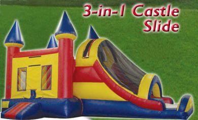 Rent The 3 In 1 Combo Bouncer Slide In Santa Barbara