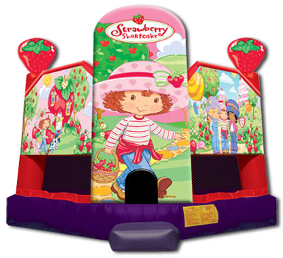 Houses  Rent on Rent The Strawberry Shortcake Extra Large Bounce House