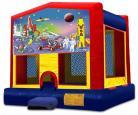 Outer Space Modular Bounce House