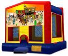 Western Themed Modular Bounce House